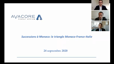 Avacore Family Office - Successions à Monaco : le triangle Monaco-France-Italie