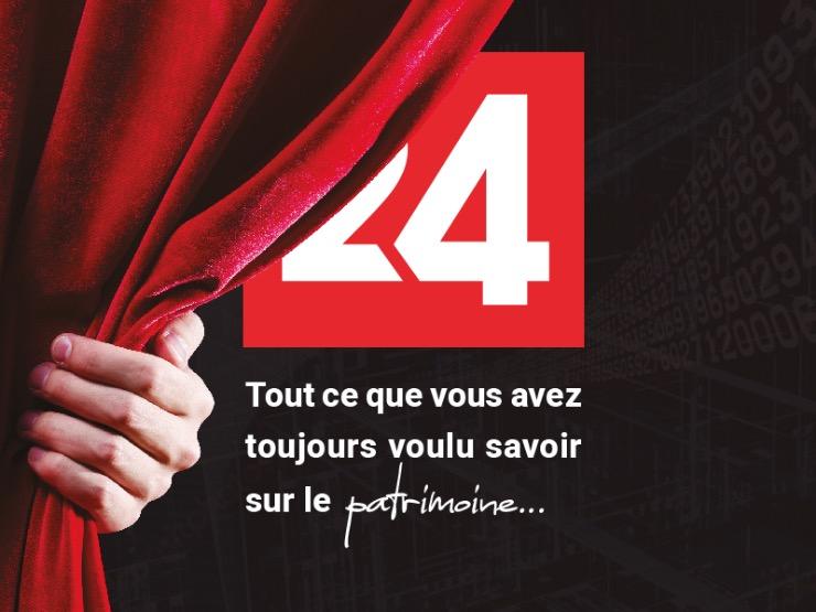 Lancement de patrimoine24