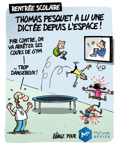 Myfunds Thomas Pesquet